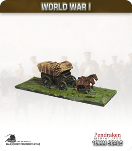 10mm World War I: British General Service Wagon (ambulance version)