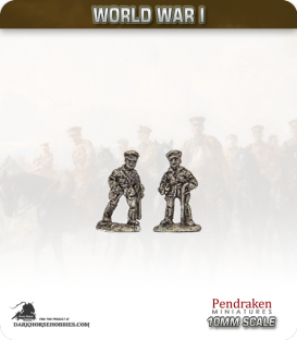 10mm World War I: British Senior Officers pack