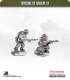 10mm World War II: British - BEF Riflemen pose 2
