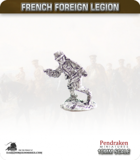 10mm French Foreign Legion: Officers pack