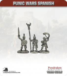 10mm Punic Wars: Spanish - Foot Command