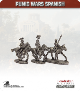 10mm Punic Wars: Spanish - Light Cavalry