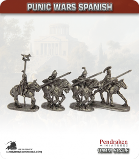 10mm Punic Wars: Spanish - Heavy Cavalry