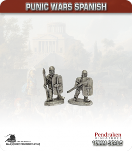 10mm Punic Wars: Spanish - Celtiberian Warband