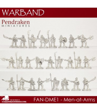 10mm Fantasy Dragonmen: Men-at-Arms