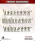 10mm Fantasy Dragonmen: Peasants