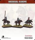 10mm European Late Medieval: Mounted Hobelar Sergeants