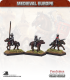 10mm Medieval (Late European): Mounted Hobilar Sergeants