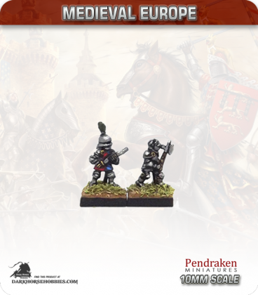 10mm European Late Medieval: Dismounted Knights