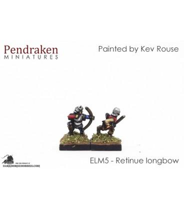 10mm European Late Medieval: Retinue Longbow
