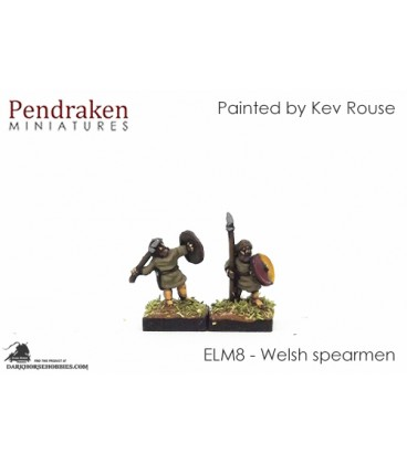 10mm European Late Medieval: Welsh Spearmen
