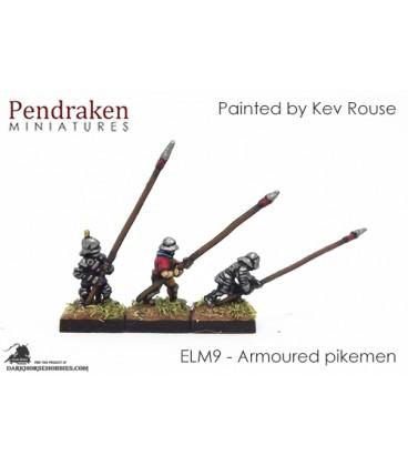 10mm European Late Medieval: Pikemen