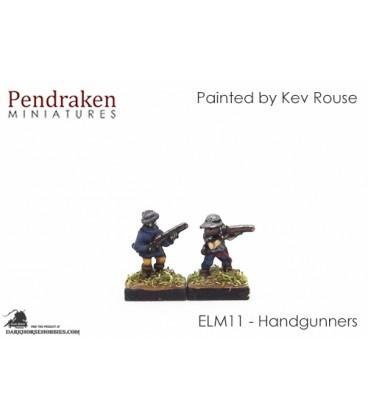 10mm European Late Medieval: Handgunners