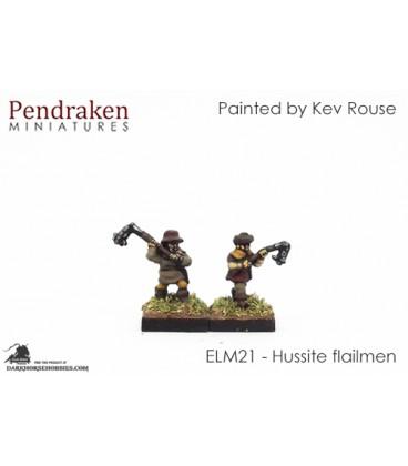 10mm European Late Medieval: Hussite Flailmen