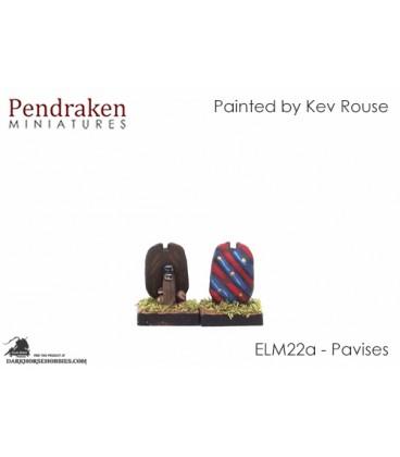 10mm European Late Medieval: Pavises