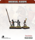 10mm Medieval (Late European): Foot Command with Pipers