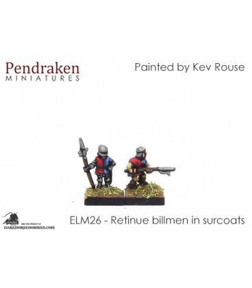 10mm European Late Medieval: Retinue Billmen in Surcoats