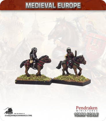 10mm European Late Medieval: Mounted Longbow