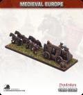 10mm European Late Medieval: Hussite Artillery Wagon (medium gun / crew)