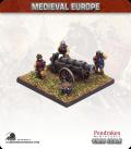 10mm European Late Medieval: Heavy Gun with Crew
