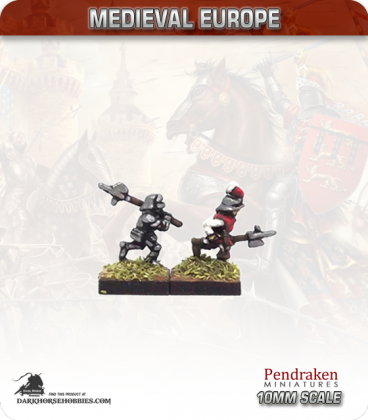 10mm European Late Medieval: Swiss Halberdiers