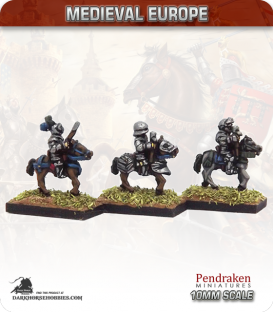 10mm European Late Medieval: Heavy Cavalry with Hand Cannon