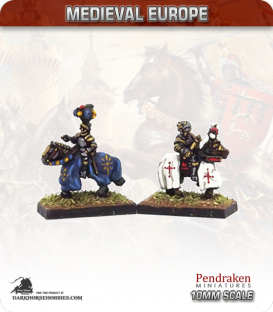 10mm European Late Medieval: Mounted Kings