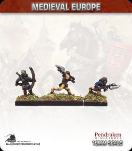 10mm European Late Medieval: Highlanders