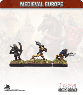 10mm European Late Medieval: Highlanders