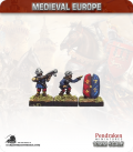 10mm European Late Medieval: Hussite Heavy Handgunners and Pavise