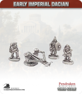 10mm Early Imperial: (Dacian) Ballista with Crew