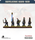 10mm Napoleonic Wars (1809): French Light Infantry/Chasseurs - March Attack