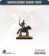 10mm Napoleonic Wars (1809): French Mounted Light Infantry Officers in Bicorne