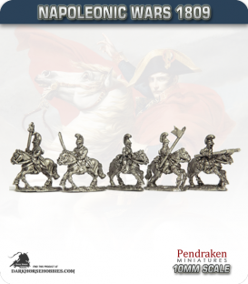 10mm Napoleonic Wars (1809): French Chevau-Leger Lancers (1810-15)
