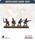 10mm Napoleonic Wars (1809): Austrian Grenzers - Firing / Advancing