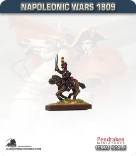 10mm Napoleonic Wars (1809): Austrian Uhlans with Sword and Carbine