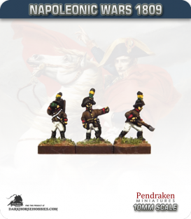 10mm Napoleonic Wars (1809): Austrian Engineers