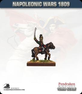 10mm Napoleonic Wars (1809): Bavarian Line / Light Infantry Mounted Officers