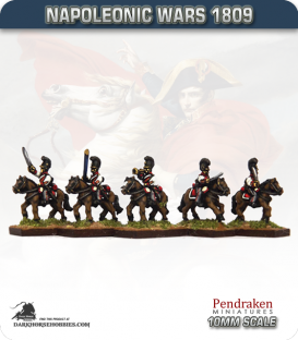 10mm Napoleonic Wars (1809): Bavarian Dragoons (with command)