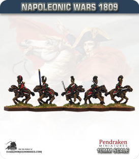 10mm Napoleonic Wars (1809): Bavarian Chevauleger (with command)