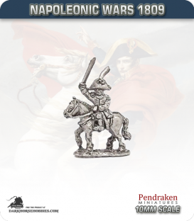 10mm Napoleonic Wars (1809): Hesse-Darmstadt Mounted Officers