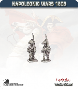 10mm Napoleonic Wars (1809): Saxony Line Infantry - March Attack