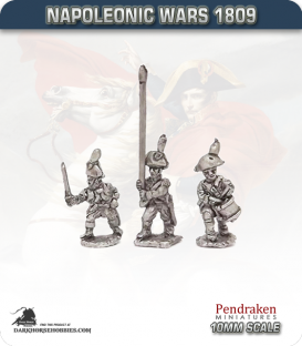 10mm Napoleonic Wars (1809): Saxony Line Infantry Command