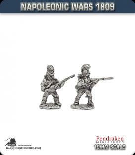 10mm Napoleonic Wars (1809): Wurttemberg Line/Fusilier - Firing Line