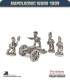 10mm Napoleonic Wars (1809): Wurttemberg 12pdr Guns (with crew)