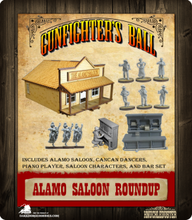 Gunfighter's Ball: Terrain Roundup - Alamo Saloon