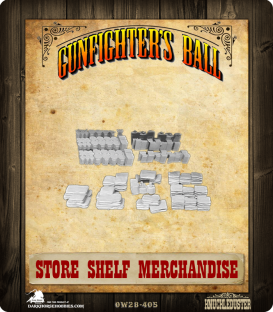 Gunfighter's Ball: Store Shelf Merchandise