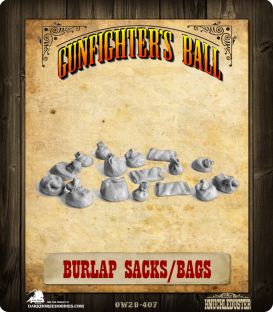 Gunfighter's Ball: Burlap Sacks & Bags of Loot