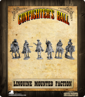 Gunfighter's Ball: Linguine Western Mounted Faction Pack