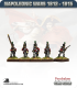 10mm Napoleonic Wars (1812-15): British Light Infantry (with command) - Advancing